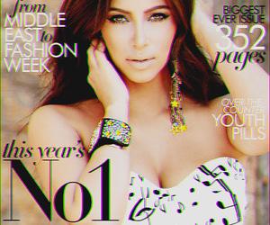 kim kardashian, kim, and magazine image