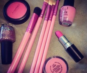 brush, collection, and lipstick image