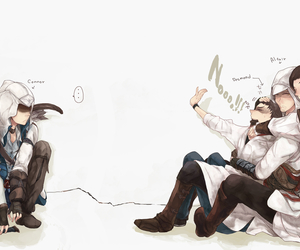 Connor, funny, and assassin's creed image