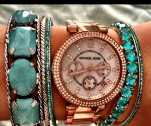 watch, accessories, and Michael Kors image