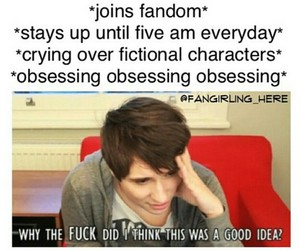 fandom, funny, and danisnotonfire image