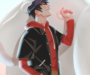 big hero 6, baymax, and tadachi image