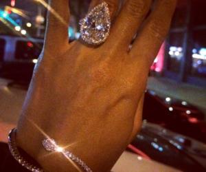 diamond, luxury, and ring image