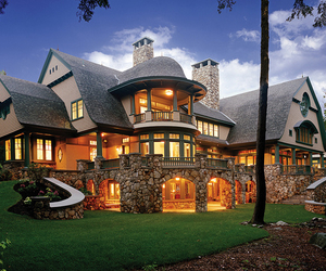 beautiful, house, and luxurious image