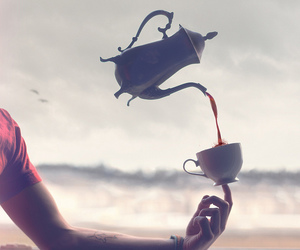 tea, magic, and coffee image