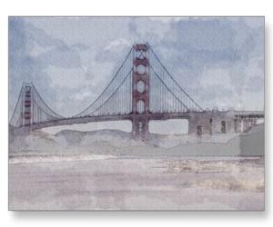 golden gate bridge, san francisco, and photo image