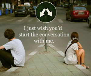 conversation, boy, and quote image