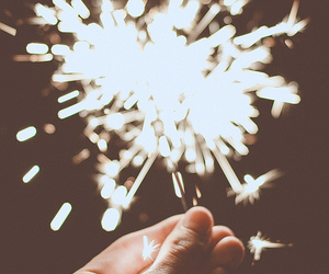 light and fireworks image