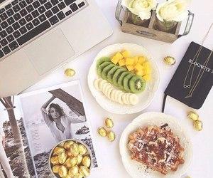 apple, salad, and yummy image