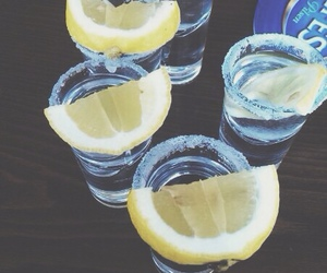 lemon, drink, and alcohol image