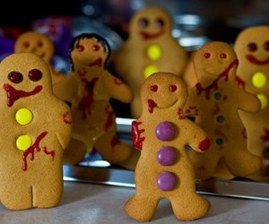 zombie, cookie, and funny image