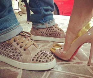 couple, shoes, and fashion image