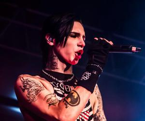 andy, andy sixx, and black veil brides image