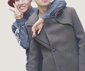 bts, jhope, and v (taehyung) image