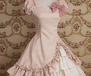 dress, lolita, and pink image