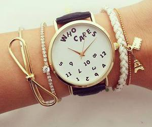 watch, fashion, and bracelet image