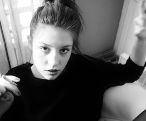 adele exarchopoulos, black, and grunge image