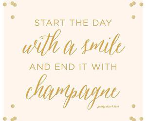 champagne, smile, and day image