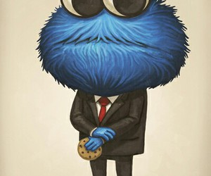 cookie, monster, and cookie monster image