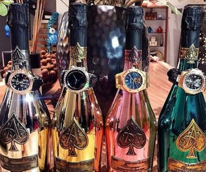 luxury, champagne, and fashion image