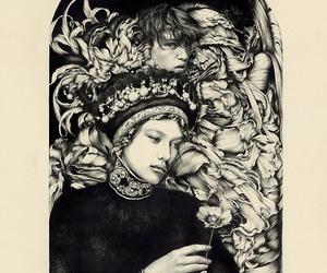 art, bonheur, and drawing image
