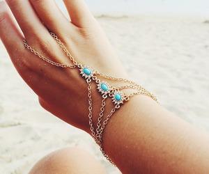 fashion, hand, and beach image