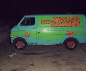 scooby doo, car, and grunge image
