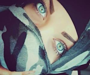 hijab, beautiful, and eyes image