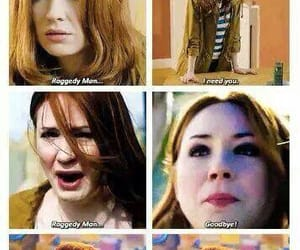 doctor who, amy pond, and raggedy man image