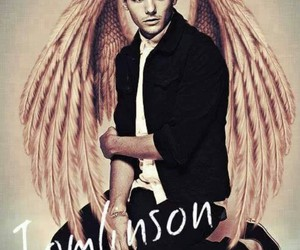 angel, louis tomlinson, and one direction image