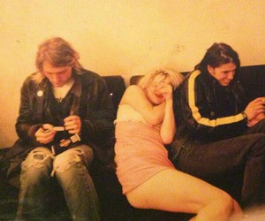 couple, Courtney Love, and dave grohl image