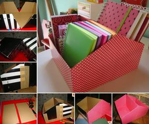 diy, book, and box image