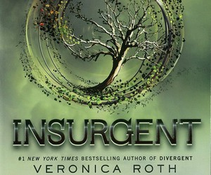 book, insurgent, and divergent image