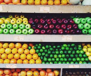 fruit, healthy, and apple image