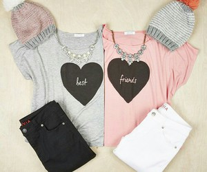 friends, best friends, and outfit image