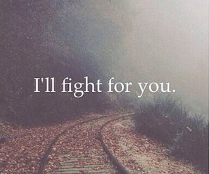 for you and i will fight image