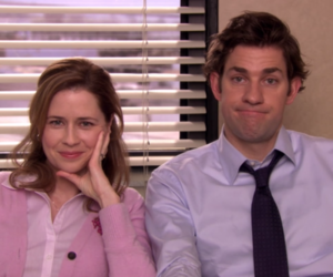 couple and jim halpert image