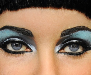 cleopatra, Elizabeth Taylor, and eyes image