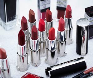 lipstick, girl, and make up image