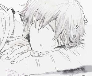 shota, sleep, and manga boy image