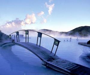 blue lagoon hot springs image