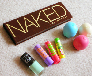beauty, eos, and makeup image