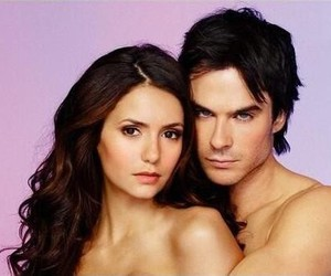 couples, Vampire Diaries, and Hot image
