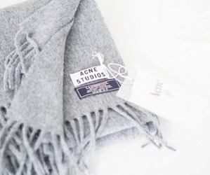 fashion, scarf, and acne image