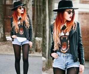 style, fashion, and grunge image