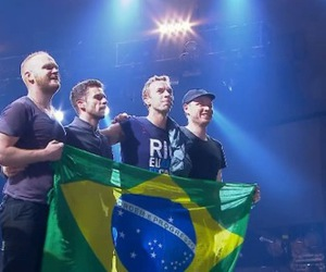 brasil, coldplay, and rock in rio image