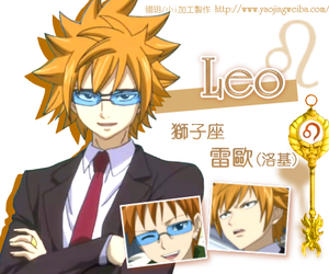 Leo, anime, and fairy tail image