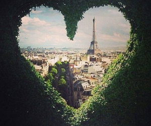paris, heart, and love image
