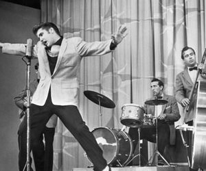 band, Elvis Presley, and music image