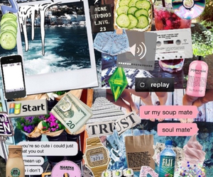 tumblr, Collage, and grunge image